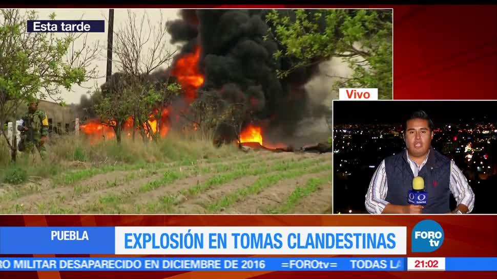 Explosión, toma clandestina, ducto de Pemex, Puebla, Minatitlán, Huachicoleros