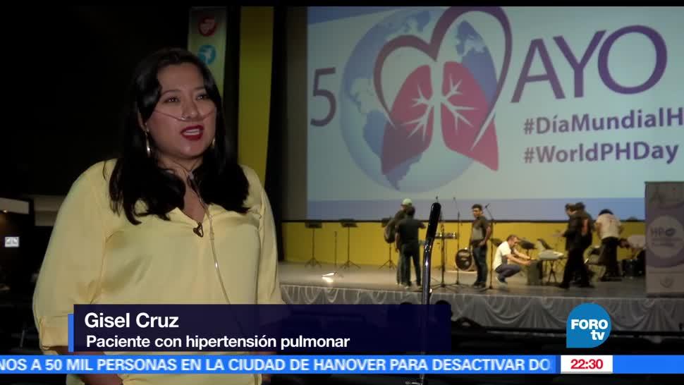 Día, Mundial, Hipertensión, Pulmonar, Conmemora, México