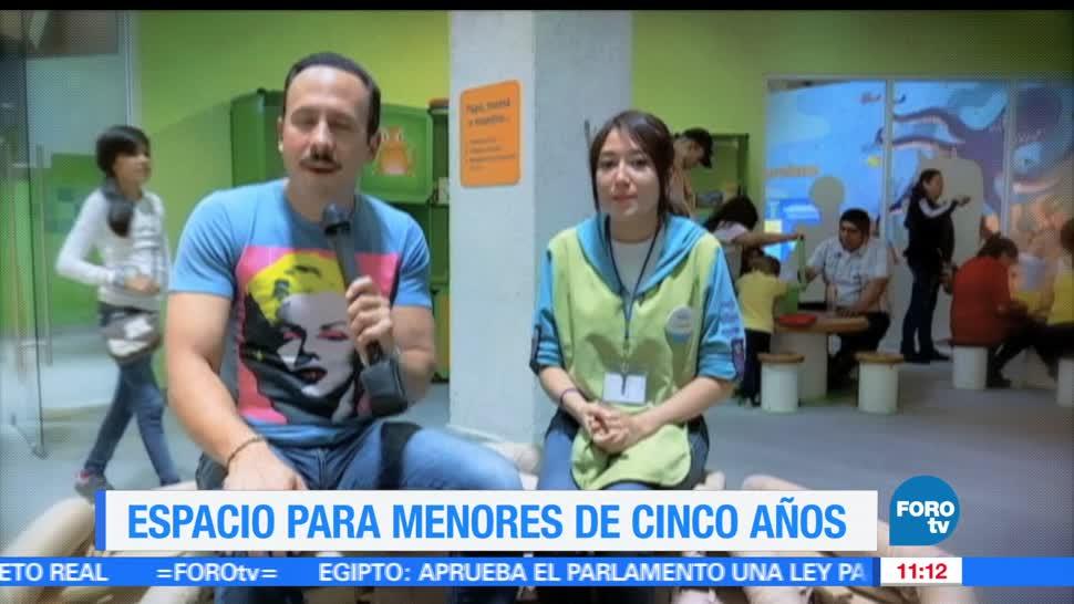 Ulises de la Torre, Papalote Museo del Niño, niños, menores