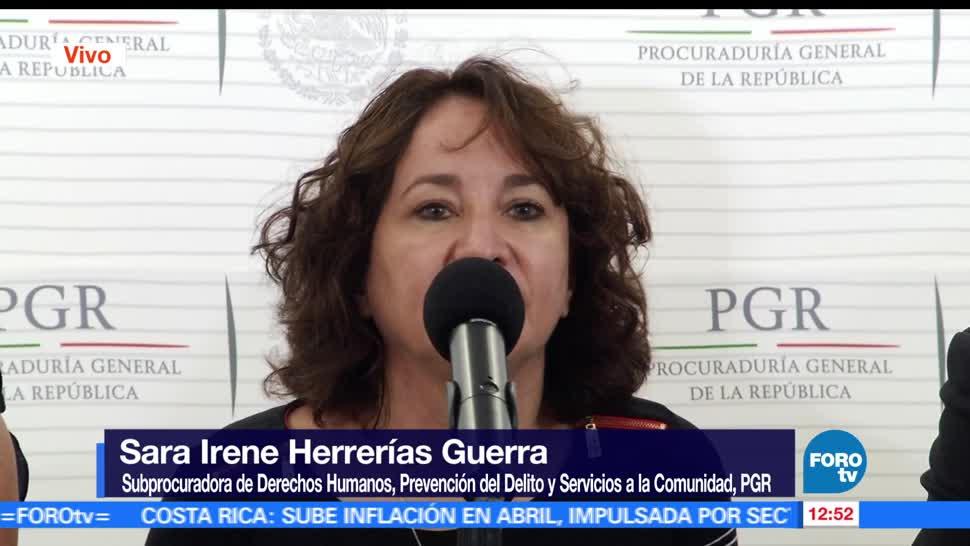 Sara Irene Herrerías, subprocuradora, gobierno federal, investigación, caso Ayotzinapa