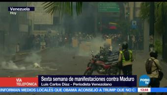 Policía de Venezuela, violencia en Venezuela, nicolás maduro, manifestaciones