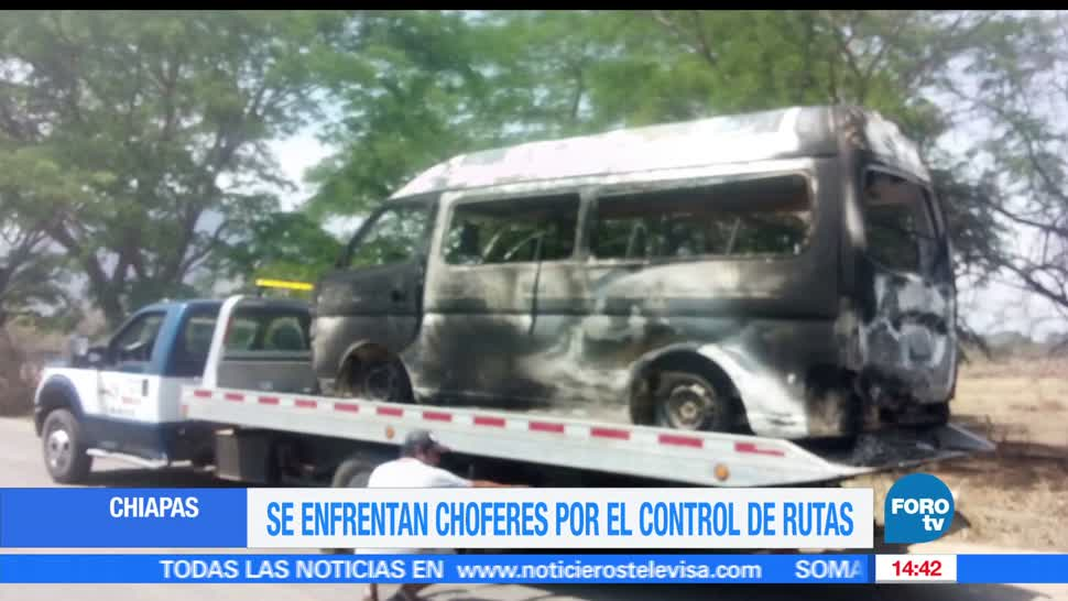 Transportistas, enfrentan, control de rutas, Chiapas