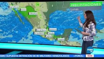 El clima, Claudia Torres, Se prevé, frente frío 46