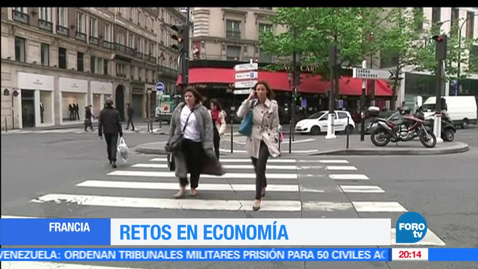 noticias, forotv, Economia de Francia, gran reto, Macron, Francia