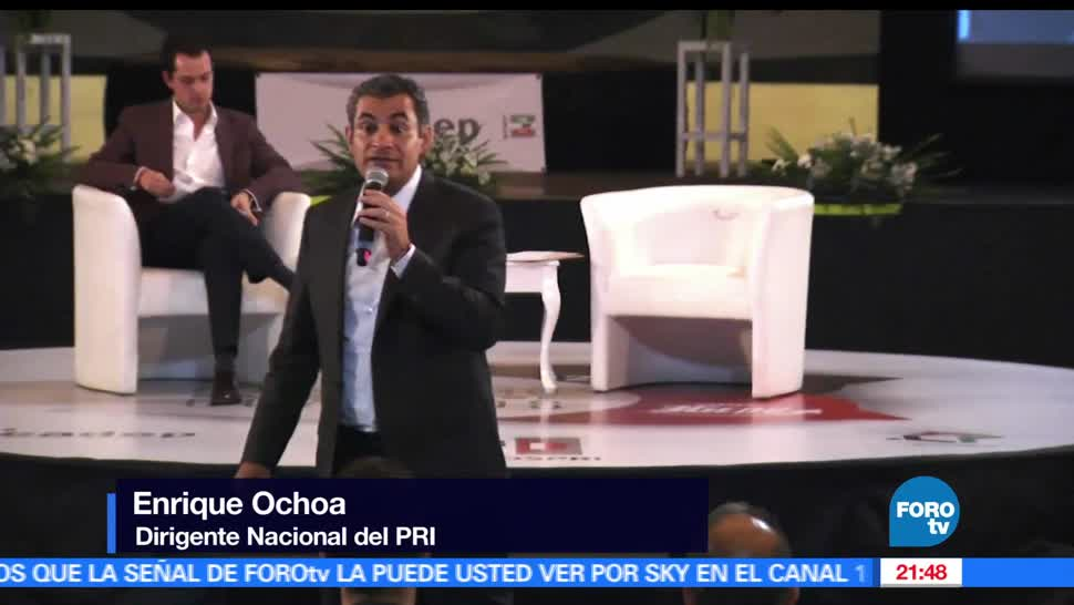 noticias, forotv, Enrique Ochoa, egresados, Escuela Nacional de Cuadros, PRI