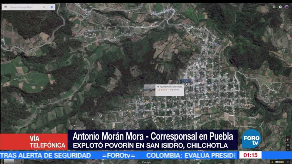 noticias, FOROtv, Explosion, polvorin, Puebla, nueve muertos