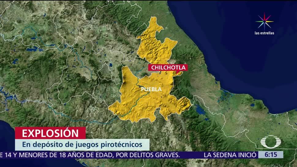 personas mueren, explosión de polvorín, Chilchota, hospitalizadas
