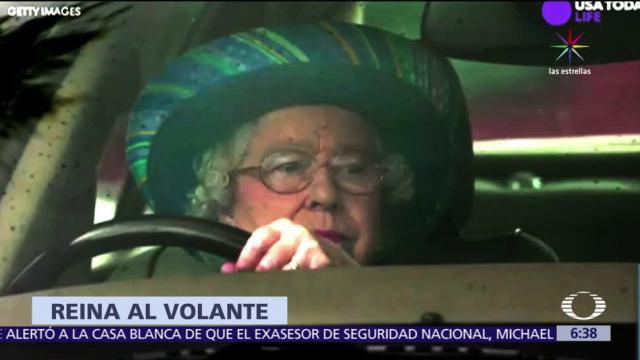 reina, maneja su auto, licencia, manejar sin licencia