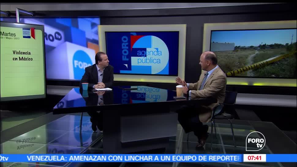 analista, Javier Tejado, violencia en México, crimen