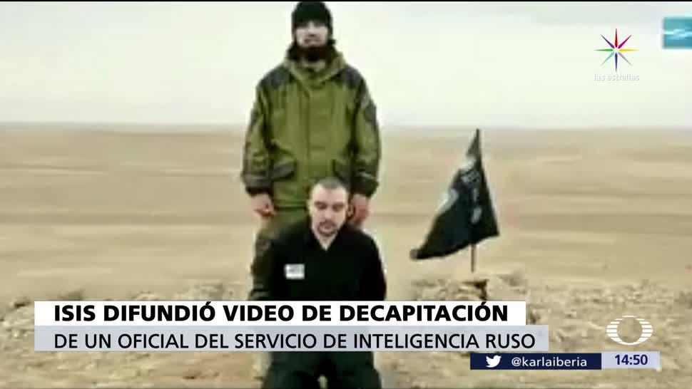 decapita, oficial ruso, extremista, Estado Islámico