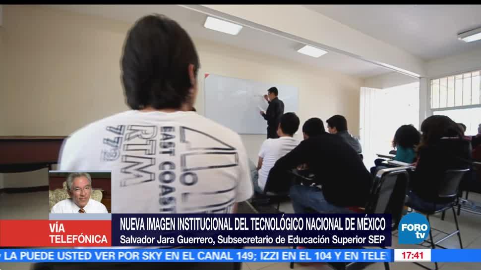 Salvador Jarra Guerrero, subsecretario de Educación Superior de la SEP, Tecnológico Nacional de México, imagen institucional