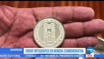 noticias, forotv, Error, ortografico, moneda conmemorativa, Constitucion