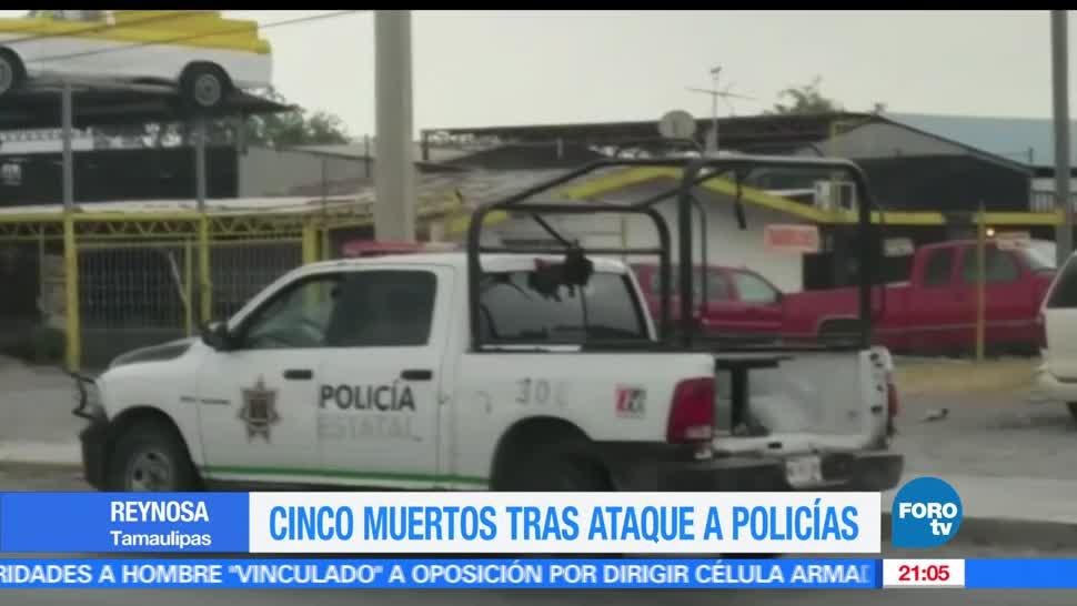 noticias, forotv, Balacera, Reynosa, cinco muertos, Tamaulipas