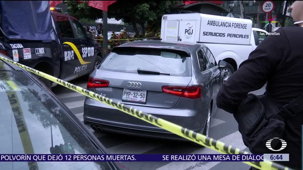 Asesinan a un automovilista, CDMX, agresores, camioneta