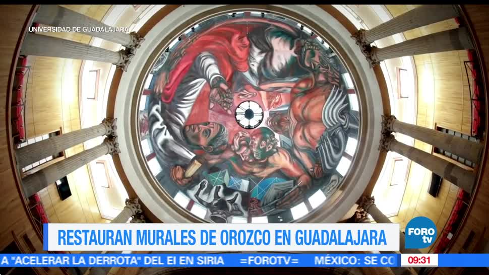 Expertos, restauración, José Clemente Orozco, murales