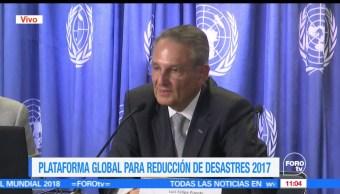 Luis Felipe Puente, Protección Civil, reunión, Plataforma Global