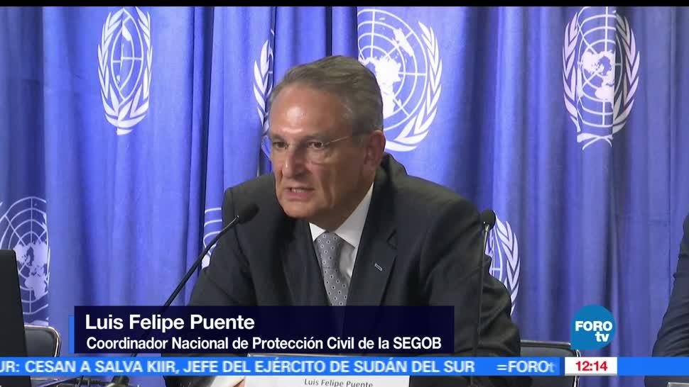 Luis Felipe Puente, Protección Civil, tormenta, huracán categoría 1