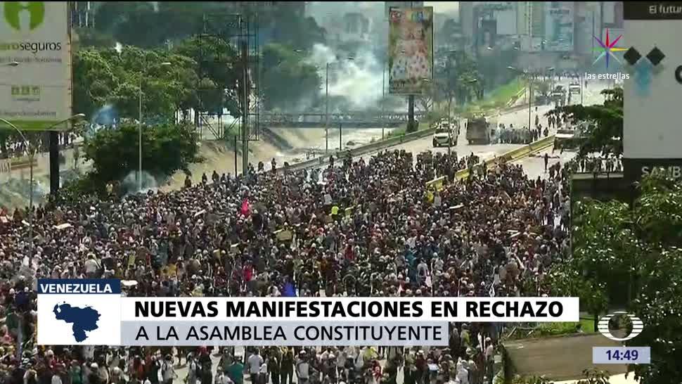 noticias, televisa news, protestas, Venezuela, maduro, Asamblea Constituyente