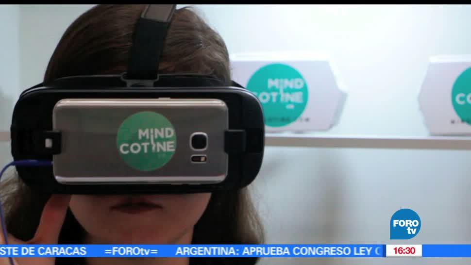 noticias, forotv, Sistema Mindcotine, sistema, realidad virtual, dejar de fumar