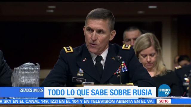 Senado, cita, Michale Flynn, exasesor, seguridad nacional, Donald Trump
