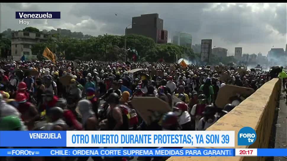 Contabilizan, 39 muertos, Durantes, protestas, contra, Nicolás Maduro