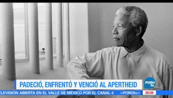 Nelson Mandela, Primer, Presidente, Negro, Sudáfrica, Efemeride