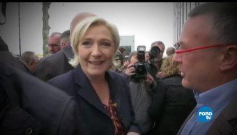 Marine, Le Pen, Aumenta, Simpatizantes, Partido, Frente Nacional, Francia