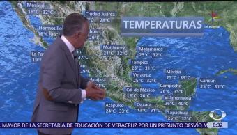 grados Celsius, entidades de México, tormenta Adrián, depresión tropical