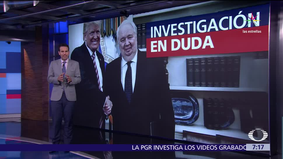 administración de Donald Trump, despido de James Comey, dirección del FBI, Rusia