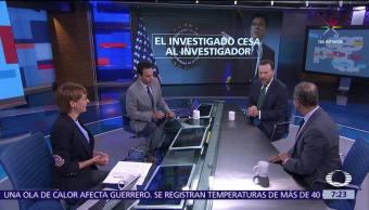 Rafael Fernández de Castro, Leo Zuckermann, Despierta, James Comey, Donald Trump