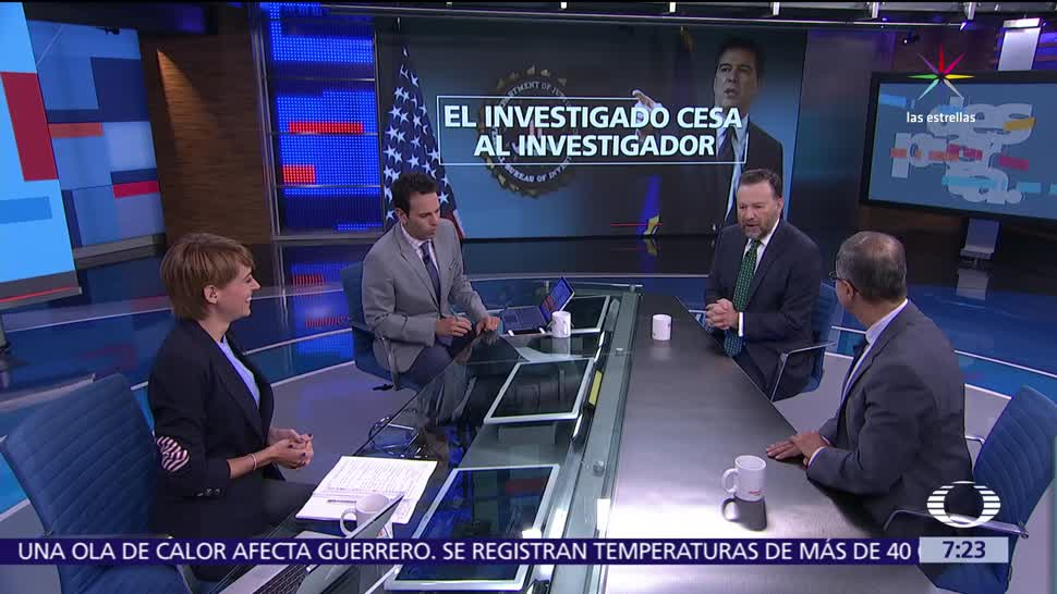 Rafael Fernández de Castro, Leo Zuckermann, Despierta, James Comey, Donald Trump