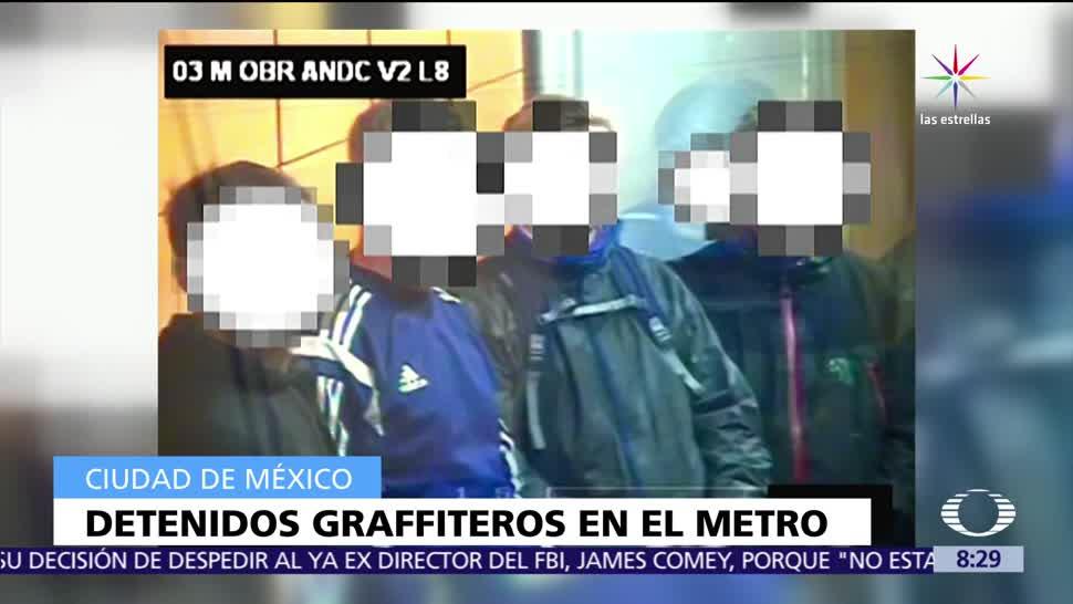 Policía, Ciudad de México, integrantes, banda de grafiteros
