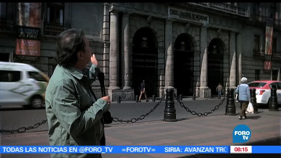 maestro, Armando Ramírez, reportaje, Plaza Manuel Tolsá