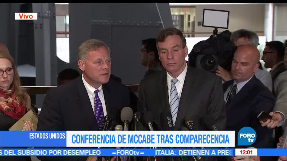 Richard Burr, senador Republicano, director del FBI, elecciones de EU