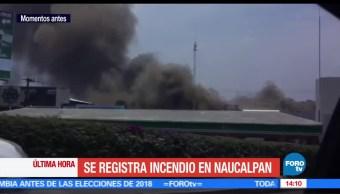 noticias, forotv, incendio, predio abandonado, Naucalpan, Jardines de San Mateo