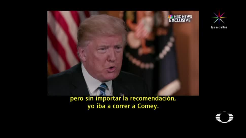 Trump, aumenta, confusión, sobre, cese, jefe del FBI