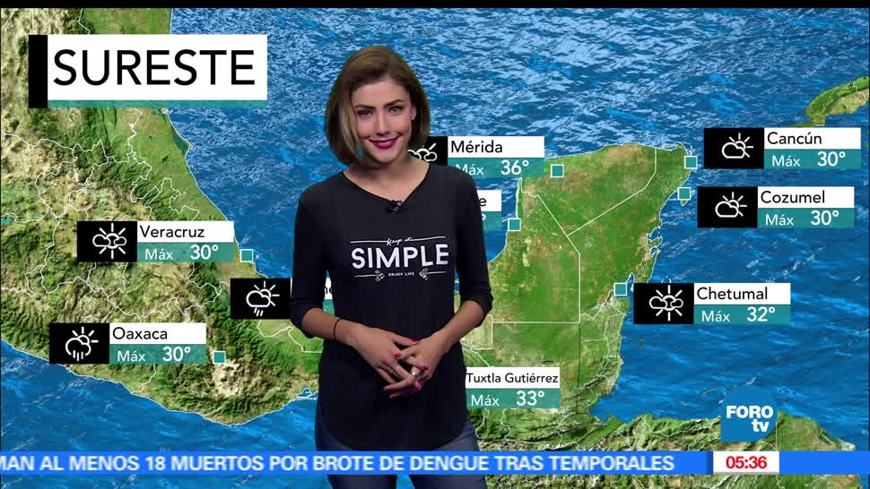 El clima, Daniela Álvarez, Pacífico, remanentes
