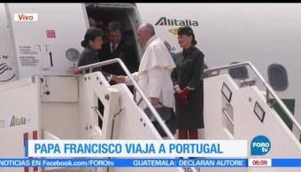 Papa Francisco, viaja, Portugal, Señora de Fátima