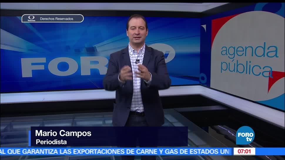 Agenda Pública, Programa completo, Mario Campos, FOROtv,