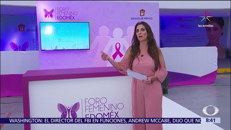 Foro Femenino Edomex, cáncer de mama, prevenir, estado de méxico