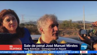 Sale penal de Tepic, José Manuel Mireles, autodefensas, Michoacán