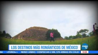 Ximena Cervantes, destinos, más románticos, México