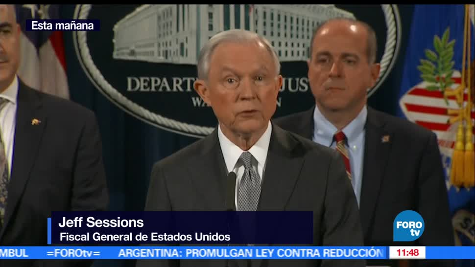 fiscal, EU, lucha contra drogas, Jeff Session