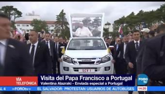 noticias, forotv, Papa Francisco, ora, capilla, Virgen de Fatima