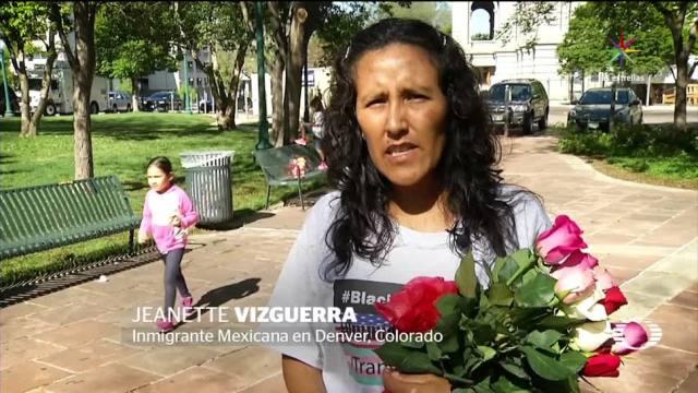 Frenan, deportación, mexicana, Jeanette Vizguerra, migrante indocumentada, refugiada en iglesia,