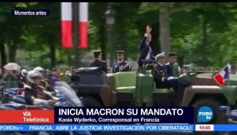 presidente de Francia, Macron, mandato, jefe de Estado galo