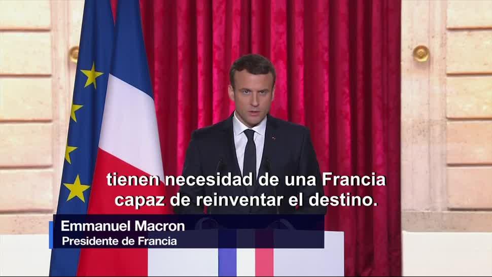 Primer, discurso, presidente de Francia, Emmanuel Macron