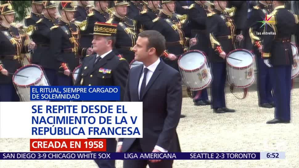 Macron, presidente, Francia, joven, país europeo