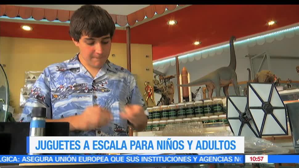 Enrique Muñoz, reportaje, juguetes a escala, niños, adultos