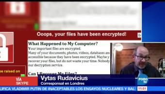 ciberataque masivo, ransomware, WannaCry, impacto de seguridad